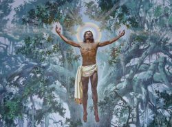 Christ in the Oaks by Auseklis Ozols