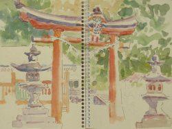 sketchbook Judi Betts