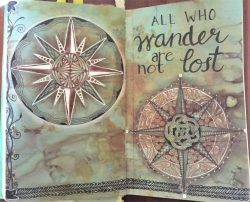 Compass Rose by Kathy Redmond
