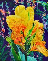 Complementary Flower by Larry Downs