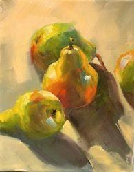 Pears by Gloria Perkins