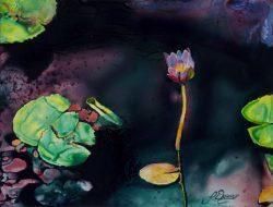 Little Flower by Larry Downs