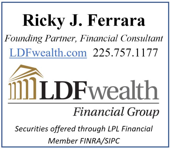 Ricky Ferrara LDF Logo