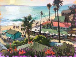 Rooftops Crystal Cove by Shelby Keefe