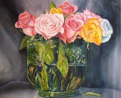 Roses by Roberta Loflin