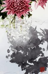 Flowers and Glass by Soon Warren