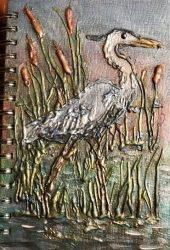 Hot Glue Heron